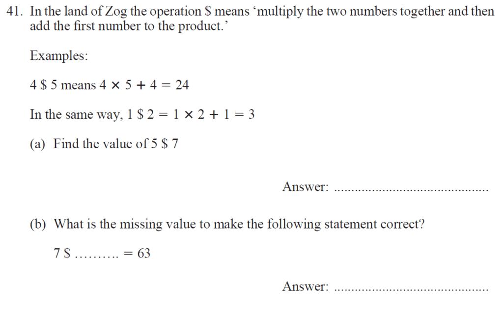 Group 2 Maths 2017 - Question 47
