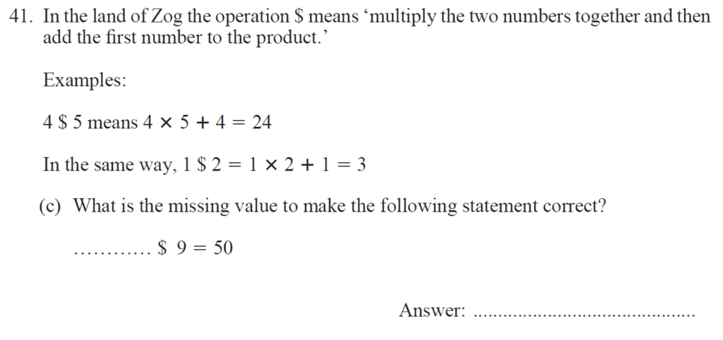 Group 2 Maths 2017 - Question 48
