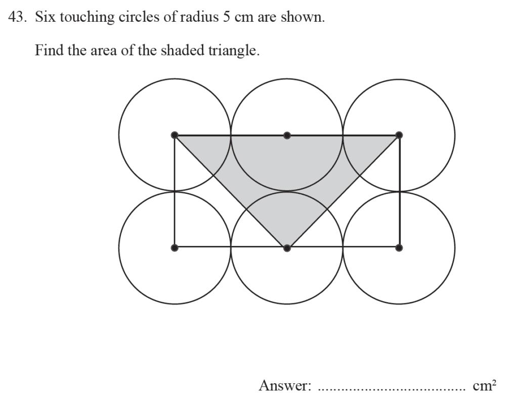 Group 2 Maths 2017 - Question 50