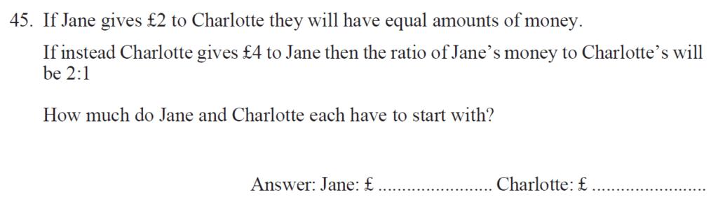 Group 2 Maths 2017 - Question 52