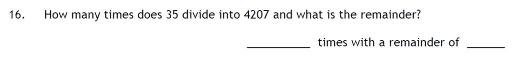 Haberdashers Askes Boys School HABS - 11 Plus Entrance Exam 2015 - Question 16