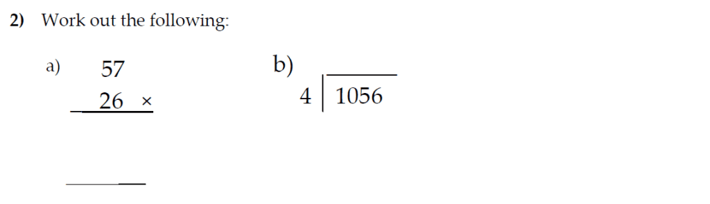 The Kings School 11 Plus Maths Entrance Examinations 2011 - Question 02