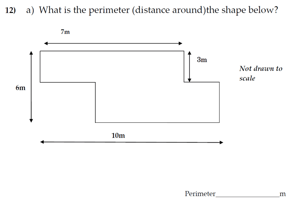 The Kings School 11 Plus Maths Entrance Examinations 2011 - Question 12