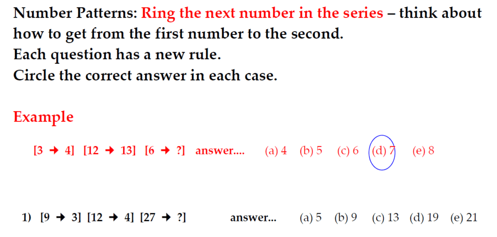 The Kings School 11 Plus Maths Entrance Examinations 2011 - Question 17