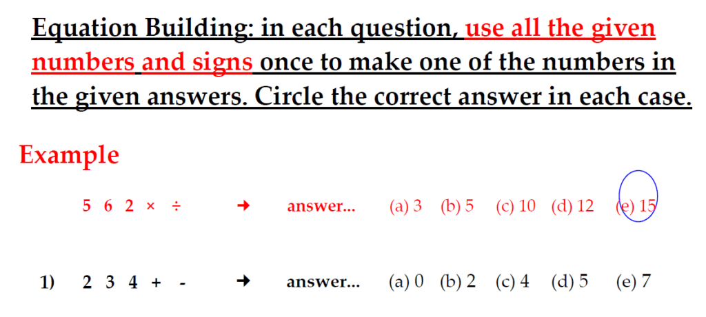 The Kings School 11 Plus Maths Entrance Examinations 2011 - Question 24