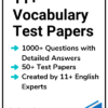 11+ Vocabulary Test Papers