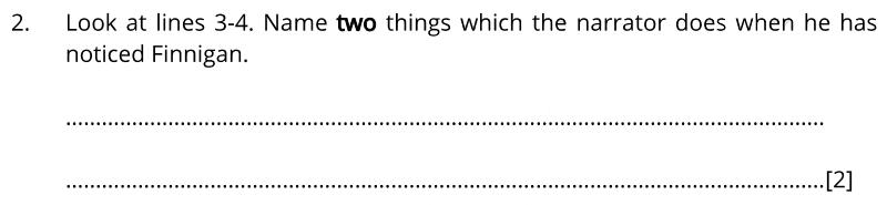 Bancrofts School 11 Plus English Sample Paper 1 2020 - Question 02