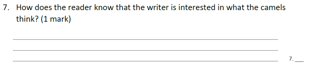 Forest School 11 Plus English Sample Paper - Question 08