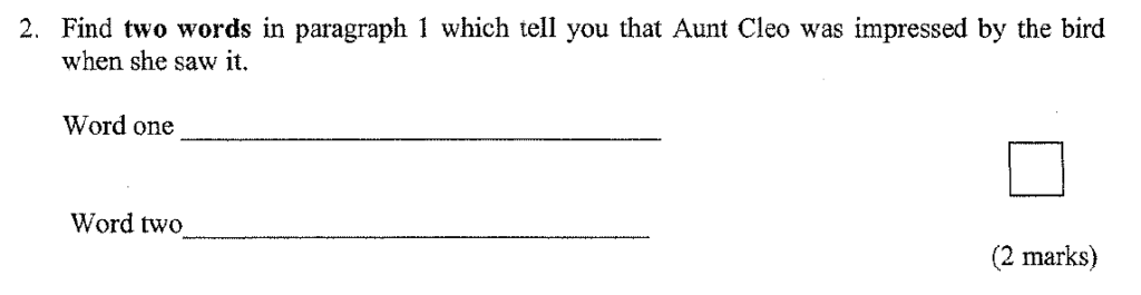 Group 1 2009 English Paper - Question 02