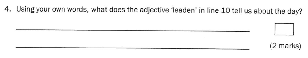 Group 1 2011 English Paper - Question 04