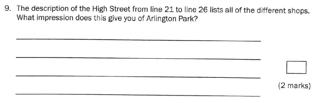 Group 1 2011 English Paper - Question 09