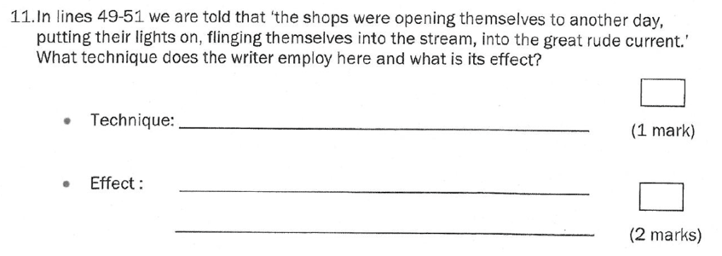 Group 1 2011 English Paper - Question 11