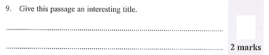 Group 1 2012 English Paper - Question 09