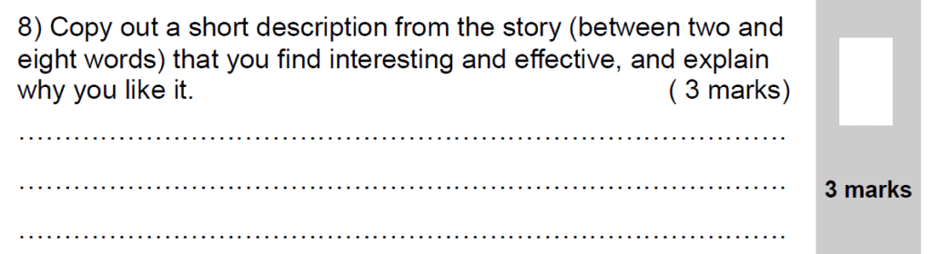 Group 2 2009 English Paper - Question 08