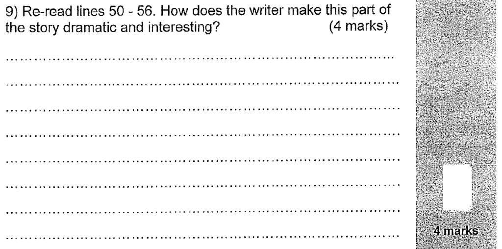 Group 2 2011 English Paper - Question 09