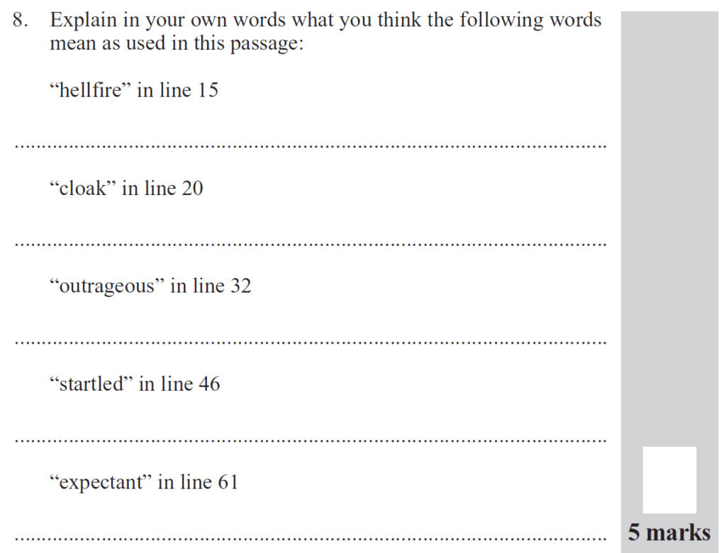 Group 2 2012 English Paper - Question 08