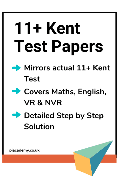 11 Plus Kent Test Papers Pack