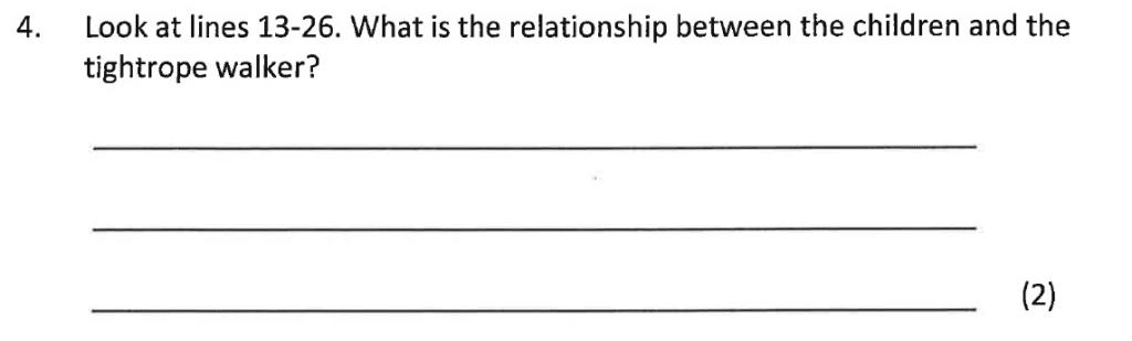 Bancrofts School 11 Plus English Sample Paper 2016 - Question 04