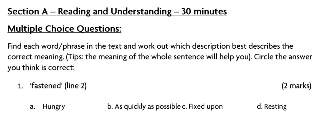 Blackheath-High-School-GDST-11-Plus-English-Entrance-and-Scholarship-Exam-Paper-Question-01