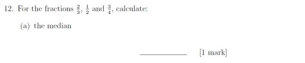 Sevenoaks School - Year 9 Maths Sample Paper 2019 Question 16