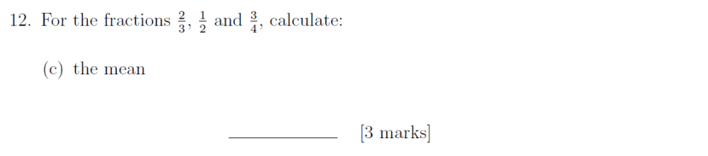 Sevenoaks School - Year 9 Maths Sample Paper 2019 Question 18