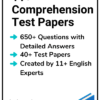 11+ Comprehension Test Papers