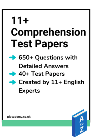 11+ Comprehension Test Papers with Detailed Answers