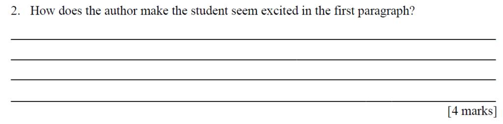 City Of London Freemen School 11 Plus English Sample Paper 2014 - Question 02