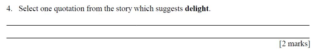 City of London Freemen School 11 Plus English Sample Paper 2014 - Question 04