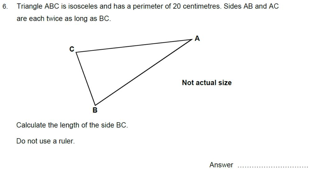 Oundle School Entrance Exam 2015 - Question 13