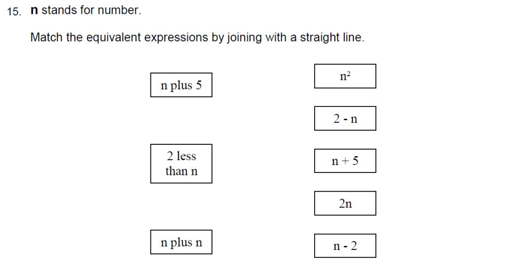 Oundle School Entrance Exam 2015 - Question 25