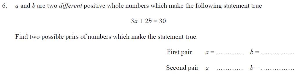 Question 13 - Oundle School 11 Plus 2016 Junior Entrance Examination