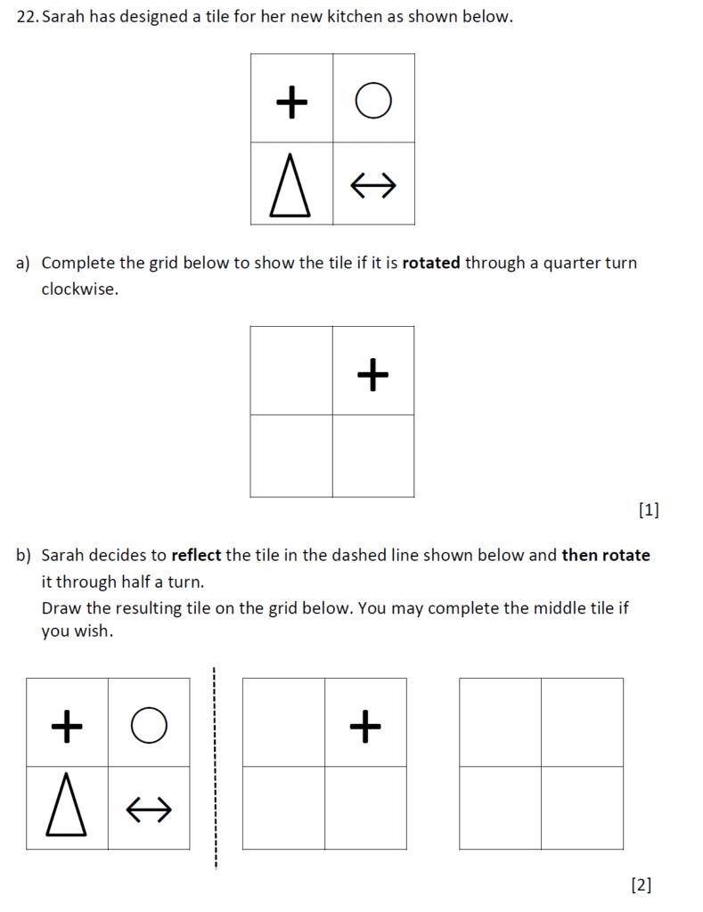 Question 28 - Dulwich College 11 Plus Maths Specimen Paper G